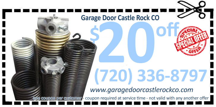 Garage Door Castle Rock Co Replacements Spring And Panel
